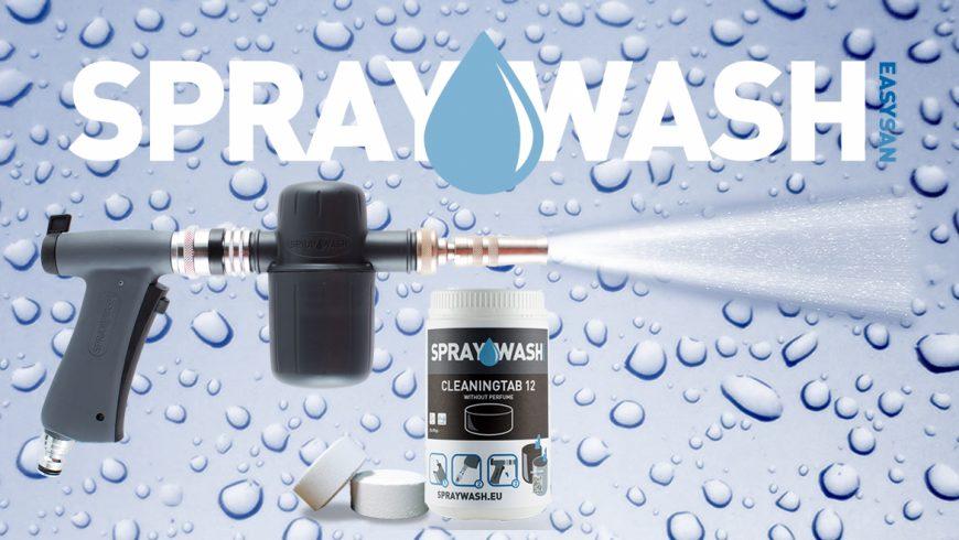 Spraywash – nowy system czyszczenia