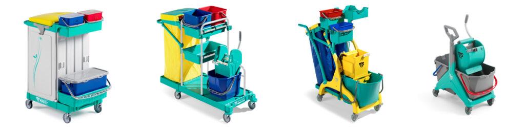 Wózki do sprzątania TTS